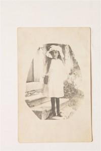 Nezahet Baysel'in en küçük hali 1918 yılı