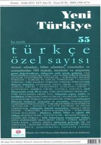 Yeni Turkiye Dergi